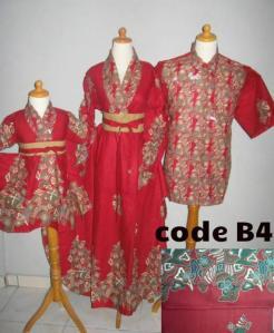Baju Batik Keluarga Murah
